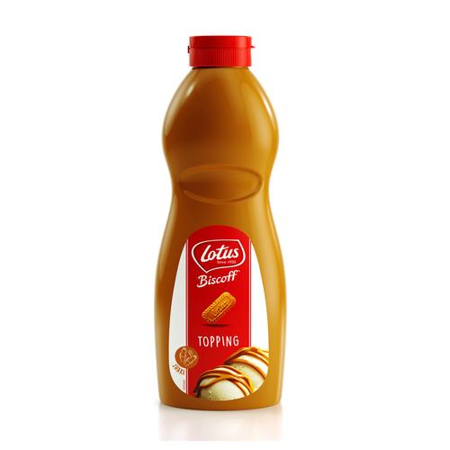 LOTUS BAKERIES Topping BISCOFF - 1lt Bottle (Belgium)