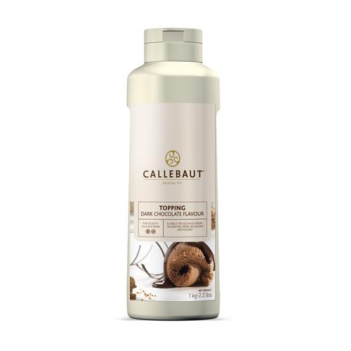 CALLEBAUT  Topping DARK CHOCOLATE - 1lt Bottle (Belgium)