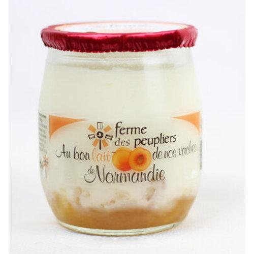 FERME DES PEUPLIERS Yoghurt Apricot 125g (France)