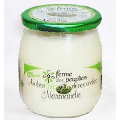 FERME DES PEUPLIERS Yoghurt Nat LowFat 125g (France)