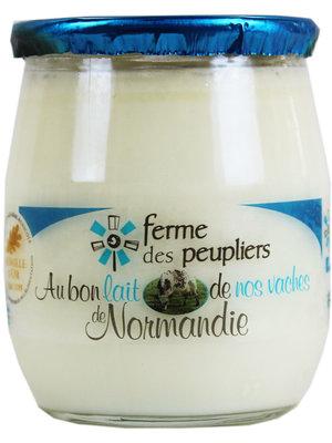 FERME DES PEUPLIERS Yoghurt Plain Natural 125g (France)