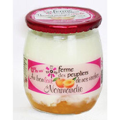 FERME DES PEUPLIERS Yoghurt Peach 125g (France)