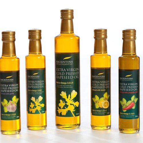 MACKINTOSH OF GLENDAVENY Infused Oil Basil 500ml (UK)