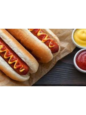 KAFE Beef Hot Dog 18cm (12 Pcs)