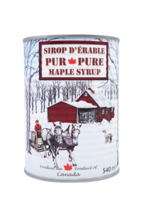 SUCRO BEC MAG Maple syrup - 540ml (Canada)
