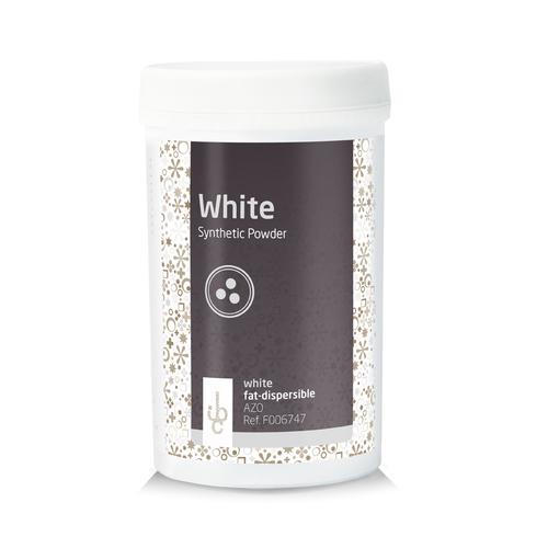 IBC Fat base Food Colouring Powder WHITE - 100 gr (Belgium)