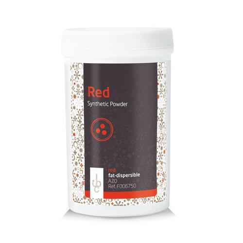 IBC Fat base Food Colouring Powder RED - 100gr (Belgium)