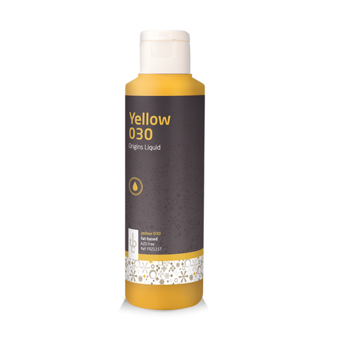 IBC Coloured Cocoa Butter (from natural origin) YELLOW 030 - 245gr (Belgium)