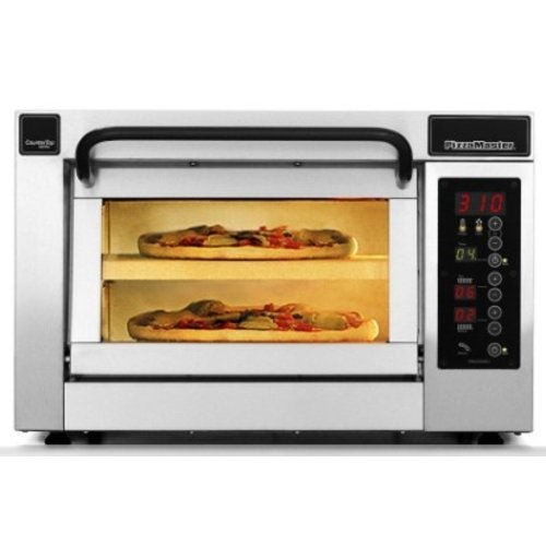 PIZZA MASTER PM 351ED-1 - Countertop Electric Pizza Oven, One (1) Chamber with Two (2) Stone Hearth, 350 Series