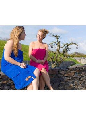 S&LT originals Dames saunakilt met naam