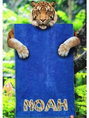 S&LT originals Kinderstrandlaken met dierenprint
