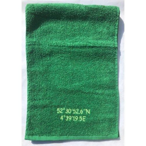 Sporthanddoek borduren 30x140