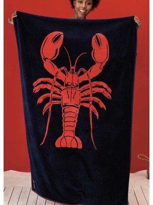Seahorse Velours strandlaken Lobster