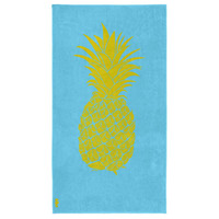 Velours strandlaken Pineapple