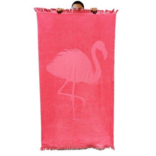 Flamingo Hamamdoek badstof