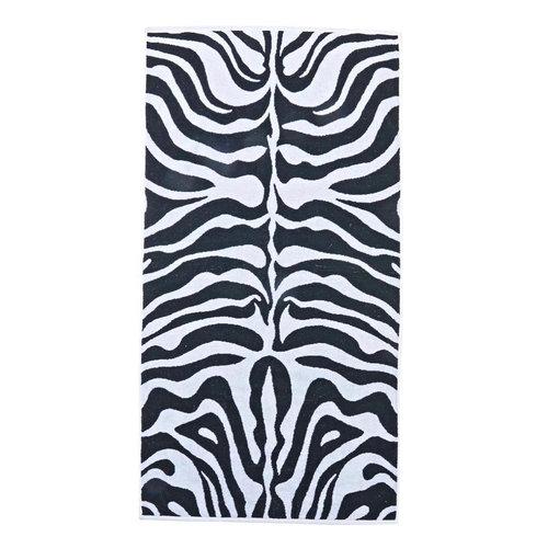 Gastendoekjes Zebraprint 30x50