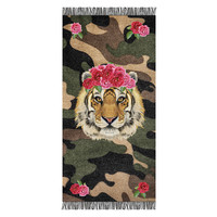 Aqua-licious strandlaken Tiger Rose