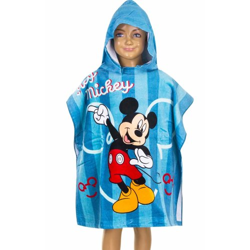 Kinderponcho Mickey Mouse