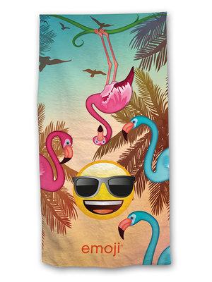 Kinderstrandlaken Flamingo's