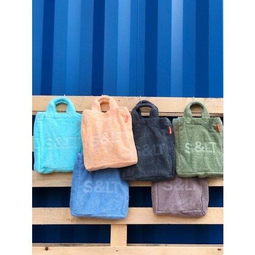 S&LT Badstof schoudertas - 6 kleuren