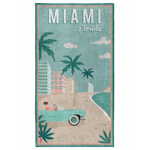 Seahorse Seahorse strandlaken Miami