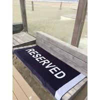 Grijs strandlaken Reserved
