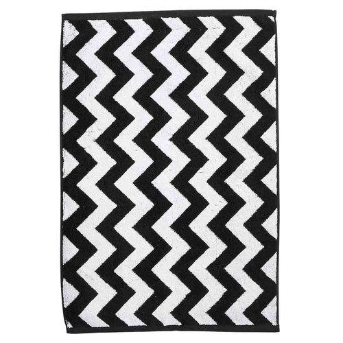Badmat met zigzag 50x70