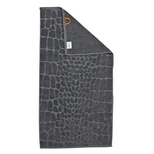 Handdoek met krokodillenprint