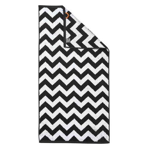 Handdoeken met zigzag