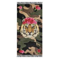 Strandhanddoek Tiger Rose