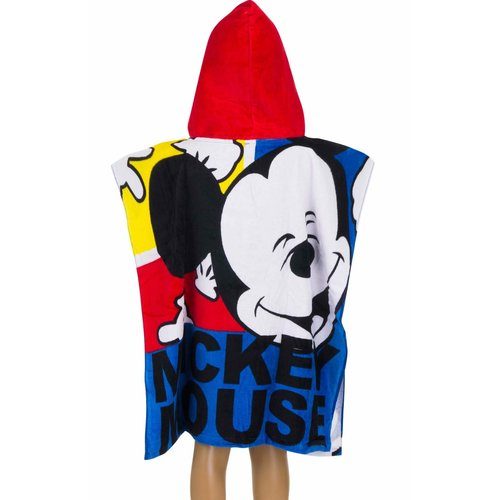 Mickey Mouse kinderponcho