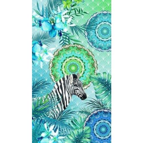 HIP Velours strandlaken HIP - Zebra