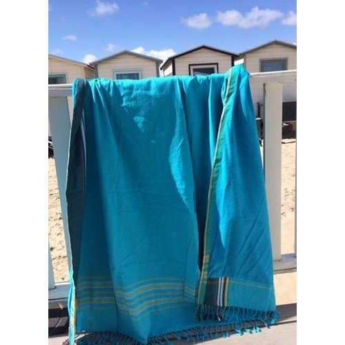 Turquoise kikoy