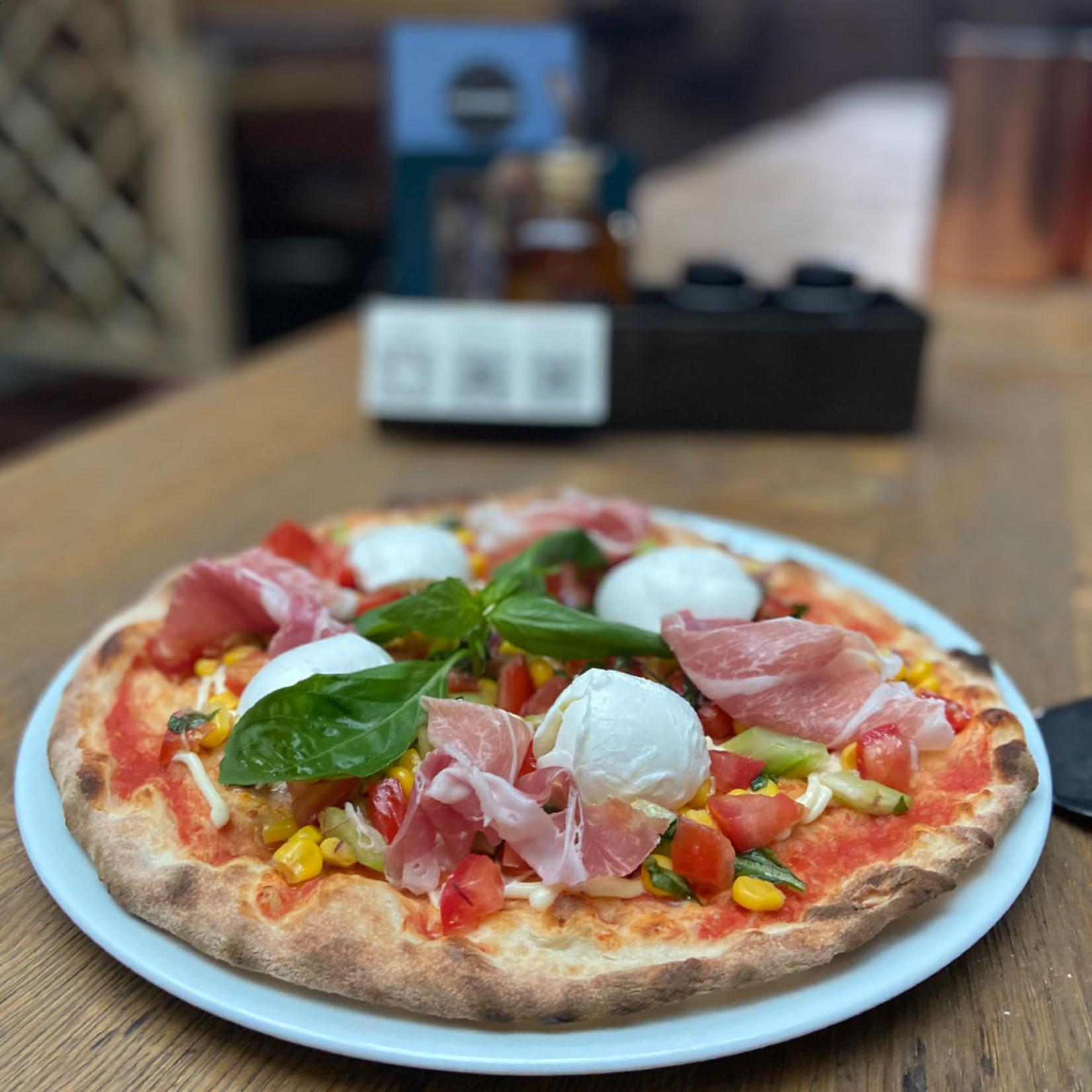Pizza Primavera - Parmaschinken