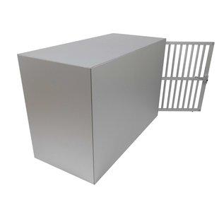 Hundos  Pro Aluminium Autobench Recht model 100x47x67 cm