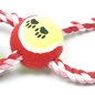 Huismerk Hondenspeeltouw 25cm  8 vorm met bal