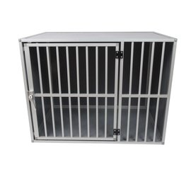 Hundos Hondenbench model DL maat L 3 zijden dicht
