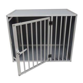 Hundos Hondenbench model DL maat M 3 zijden dicht
