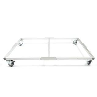Hundos  Pro Aluminium Wielenframe voor Hondenbench model DK/DL maat S