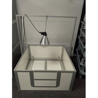 Hundos  Pro Beugel voor warmtelamp passend bij werpkist120x120x60 cm
