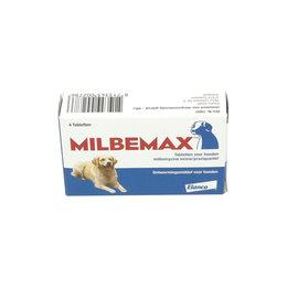 Milbemax Ontwormings tabletten voor honden 5-75 kg 4 stuks