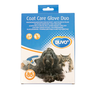 Duvo+ Vachtverzorgende handschoen