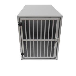 Hundos  Pro Aluminium Autobench Recht model, 100x55x67 cm met spijlen