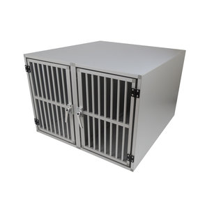Hundos  Pro Aluminium Autobench Recht Model Dubbel 100x95x67