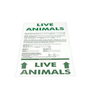 KLD Live Animals Sticker
