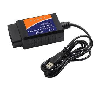 OBD2 scanner ELM327 Interface USB OBD2 Auto Scanner