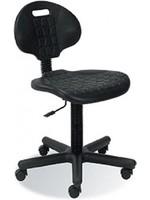 Werkplaatsstoel Zwarte GTS zonder armleuningen