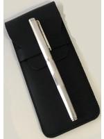 Vulpen Sterling zilver 925 inclusief handgemaakt lederen etui zwart
