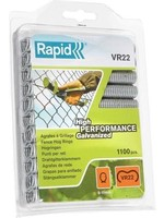 Rapid VR22 Rapid Agraf gaasklem  of hekwerk nieten - verzinkt - 1100 nietjes