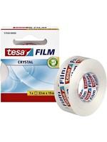 Tesa tesafilm® Crystal plakband, transparant, sterke kleefkracht